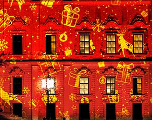 Effets de Noël dynamiques pour les projecteurs