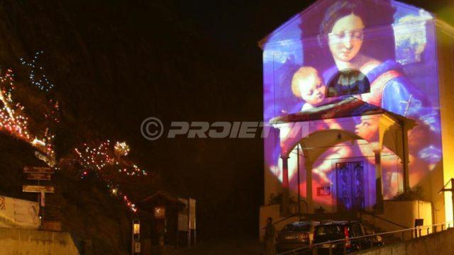 église_madone_projection