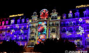 Video mapping Montreux Natale 2017