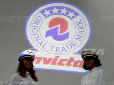 Projection du Logo Invicta
