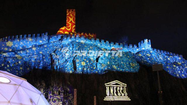 Projections sur des châteaux