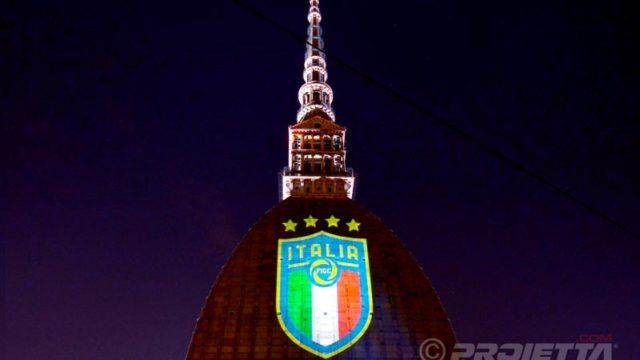 Projection logo du championnat italien