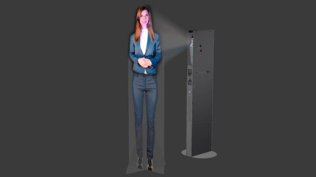 Hôtesse virtuelle
