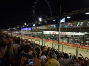 Singapour 2013 projections scénographiques publicitaires