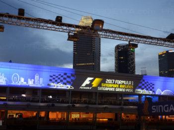 Singapour 2017 projections scénographiques publicitaires