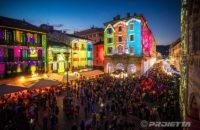 Projections sur le thème de Noël  - Como Magic Light Festival