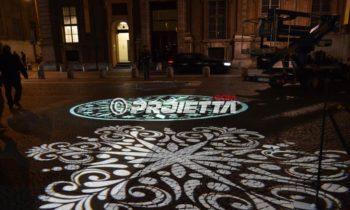 Projections décoratives à sol