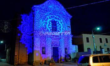Projections décoratives pour habiller à la lumière les façades d'églises