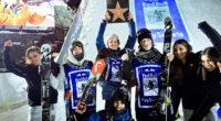 Redbull vainqueur freeride ski