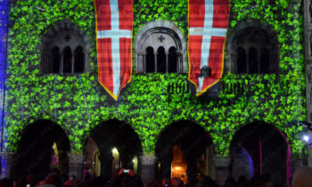 Projections décoratives à thèmes médiévaux