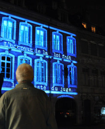 Video Mapping Proietta