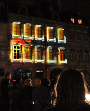 Événement de Video Mapping Musée Victor Hugo