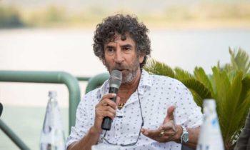 GIAMPAOLO TALANI alla conferenza stampa per il progetto proiezioni a Lovere