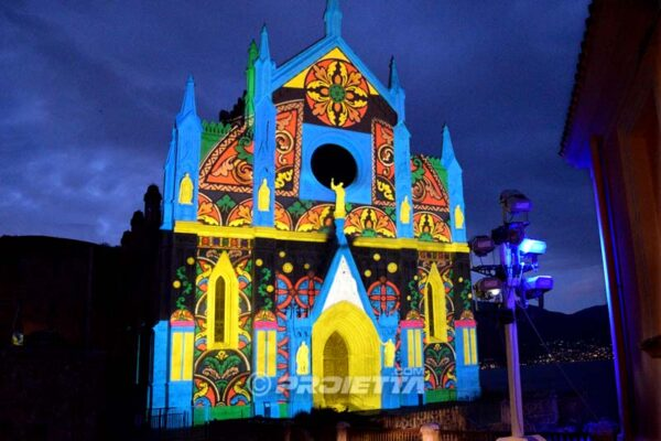 Proiezioni natalizie a Gaeta